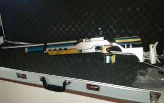 Olympic Air Rifle- First One in SA , Olympic Air Rifle - First One