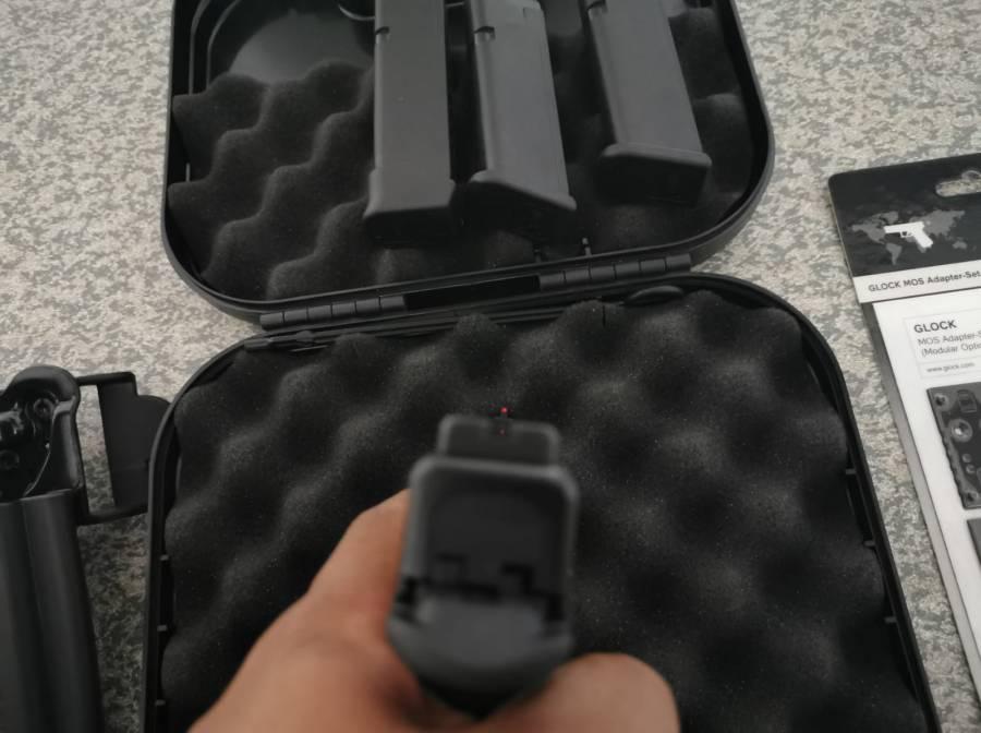 S&J hardware Glock aluminum mag base 9/40 black - Solely Outdoors Inc.