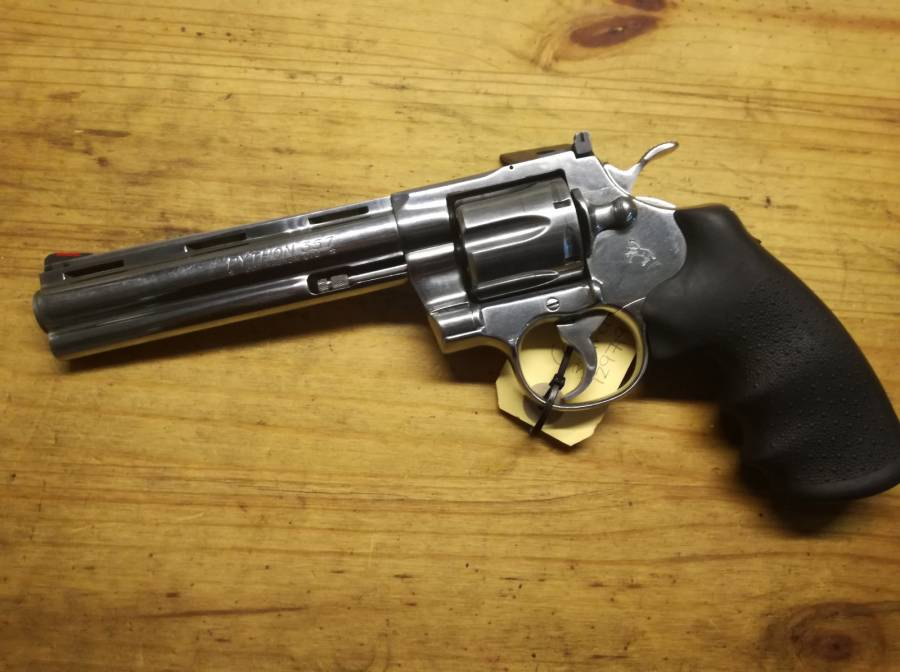 Colt Python  357Mag, Stainless Steel Colt Python available for R18