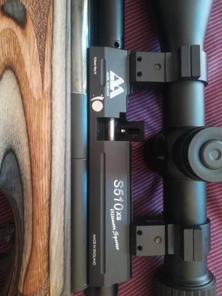Air arms S510-XL ultimate sporter 5 5, Impulse buy as new 2