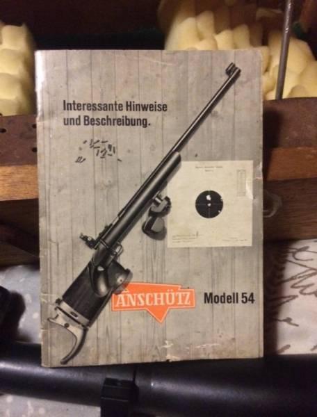 22lr Anschutz target 54, R 15,000 00