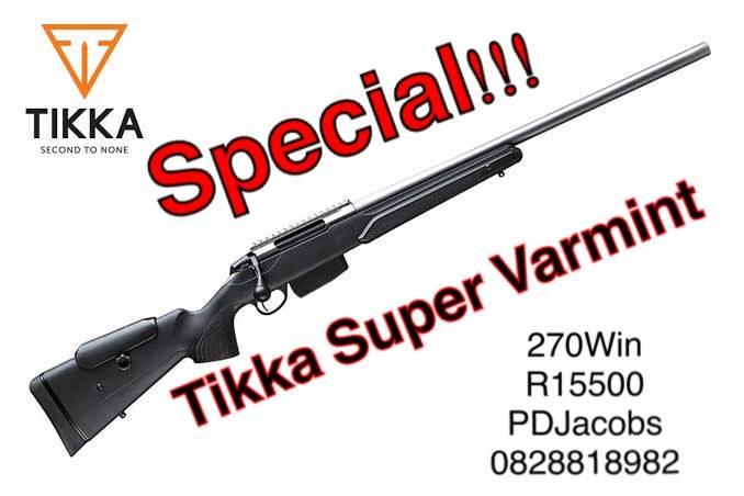 Tikka Super Varmint Special, Tikka super varmint  Brand New
