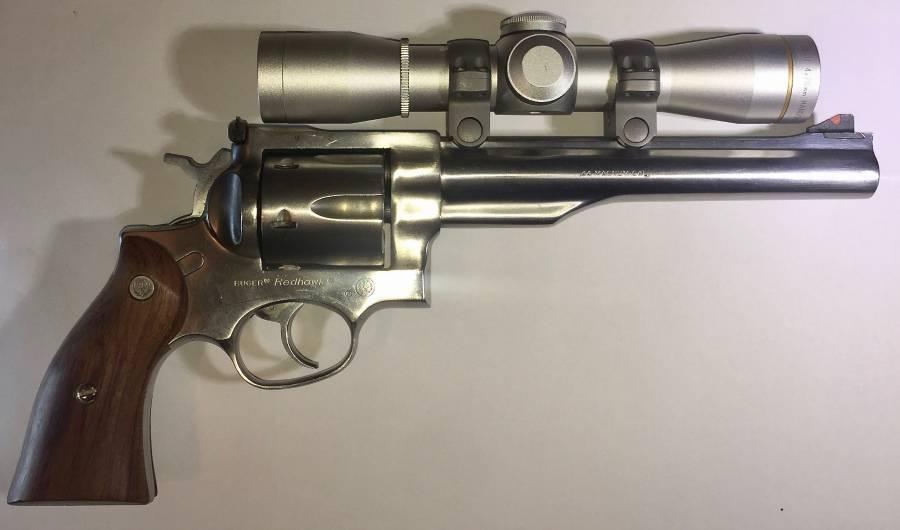 Revolvers, Revolvers, Ruger Redhawk  44 Magnum + 430 Free Bullets, R