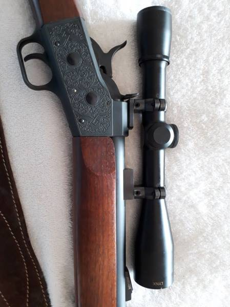 Pedersoli 54 calibre black powder rifle, Black powder rifle with