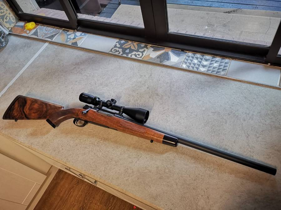 375 H&H , Custom build 375 H&H  Pacnor bull barrel  K98