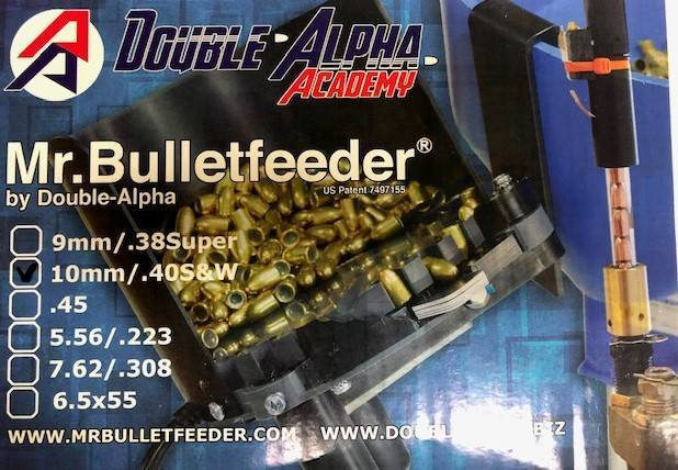 Automatic bullet feeder for hand gun bullets, No more finger